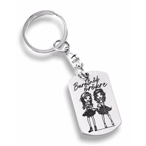Kulcstartó - Barátnők örökre! - Párizs