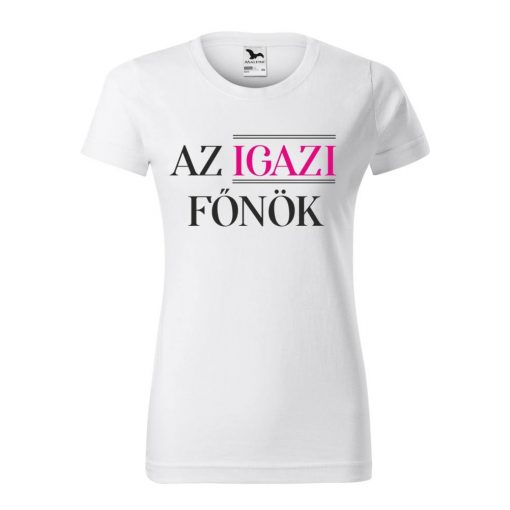 polo-az-igazi-fonok-feher-fekete-pink