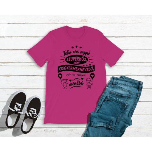 polo-talan-nem-vagyok-szuperhos-csak-kisgyermeknevelo-pink-fekete
